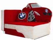 Детский диван для мальчика «Красный бумер», Львов