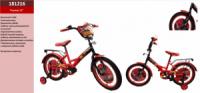 Велосипед 2-х коліс 12« 181217 (1шт) з дзвінком, дзеркалом,без ручного тормоза