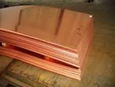 Медный лист М1, 0,5мм - 50мм (600х1500)