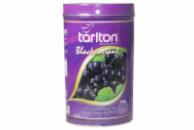 Чай черный Тарлтон ЧЕРНАЯ СМОРОДИНА 100 г жб Туба Tarlton Blackcurrant