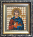 Набор для вышивки бисером Икона святой мученик Валерий