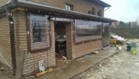 Прозрачные шторы, прозрачные окна из ПВХ Ахилес Япония. Киев
