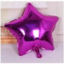 Фольгированный шар звезда малиновая 18'' 45 см