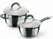 Набор кухонной посуды Rondell Flamme кастрюля 3.2л и ковш 1.3л