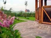 Ландшафтный дизайн (дорожки с камня)