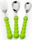 Набор детских столовых приборов Fissman «Гусеница» 3 предмета