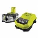 Аккумулятор + зарядное Ryobi RBC18L40