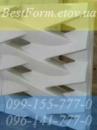 Форма силиконовая для 3D перегородки 096