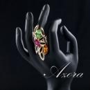 Женское кольцо длинное