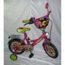 Велосипед 2-х колес 14« »Маша і медвідь«со звонком, зеркалом, вставками в колесах