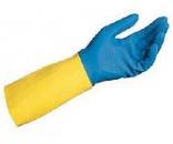 Перчатки неопрен-латексные химически устойчивые
