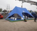 Тент Звезда-2 Бескаркасный тент-палатка - Шатер для отдыха, туризма