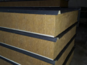 Сендвич панели трехслойные клеенные с наполнителями ППУ, МВ, ПСБ - производство.