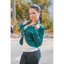 Пиджак «Осень» цвет зеленый,склад№1