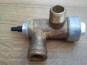 Электромагнитный клапан с кнопкой в сборе газовой колонки ВПГ18,23