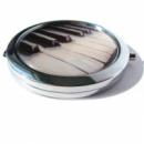 Карманное зеркало «Пианино»