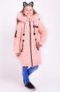 Зимняя куртка для девочки «Мода» персик
