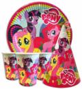 Набор для детского дня рождения « Маленькие Пони ».