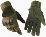 Тактические перчатки полнопалыеOakley M темно-зеленые