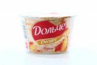 Творожный десерт Дольче Президент 200г 4% персик