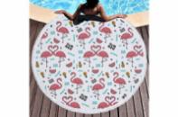 Пляжный коврик Фламинго Summer 150 см