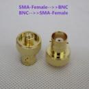 Переходник, адаптер, коннектор SMA female to BNC female (CР-50)