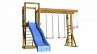 Детская игровая площадка для дачи детсадика турбазы