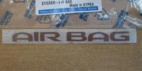 Надпись «AIRBAG» (наклейка) Нексия 96179306-GM