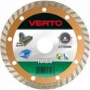 Диск Verto алмазный для плитки со сплошной кромкой 125 мм
