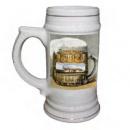 Керамический пивной бокал, MUG22, 100х190мм