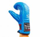 Снарядные перчатки кожаные VELO 4005-BL(S-XL) синий