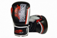 Боксерські рукавиці PowerPlay 3005 Чорні 8 унцій