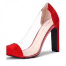Женские туфли Marcelin красные