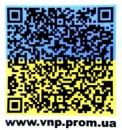 Печать на оракале QR-кода в украинском стиле в Днепропетровске