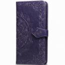 Кожаный чехол (книжка) Art Case с визитницей для Xiaomi Mi CC9 / Mi 9 Lite Фиолетовый