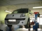 Тягово-сцепное устройство (фаркоп) Renault Kangoo II (2008-...)