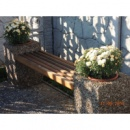 Скамейки садовые, лавочки парковые, скамьи бетонные для сада, двора и парка
