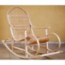 Кресло качалка плетеное из лозы «Бука-Бука»