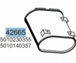 Глушник RENAULT MAJOR 5001867400, 5010230355, 5010140357, 64338 (вироб-во HOBI)