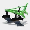 Плуг 1L-220 лемешно навесной общего использования, глубина обработки регулируется колесом до 20см