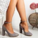 Женские туфли Briella серые