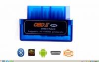 UltraМini ELM327 OBD-2 V1/5 сканер блютуз мини адаптор