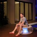 Надувное кресло Bestway 82 х 82 х 41 см с LED подсветкой (75085)