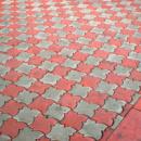 Тротуарная плитка «Кленовый лист».