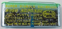 Пули пневматические Mendoza 0,79 г (5,5 мм)