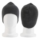 Bluetooth шапка Music Hat с гарнитурой темно-серая