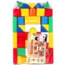 Кубики Городок конструктор большой Яблоко