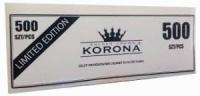 Сигаретні гільзи для набивки табаком KORONA 500шт