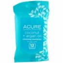 Acure Organic. очищающие влажные салфетки.12 штук