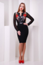 Платье-вышиванка Лусена
